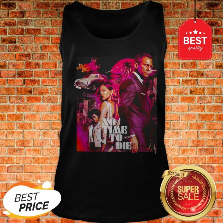Official James Bond No Time To Die Tank Top
