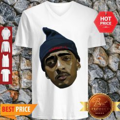 Official Rapper RIP King Nipsey Hussle Rest In Peace V-Neck