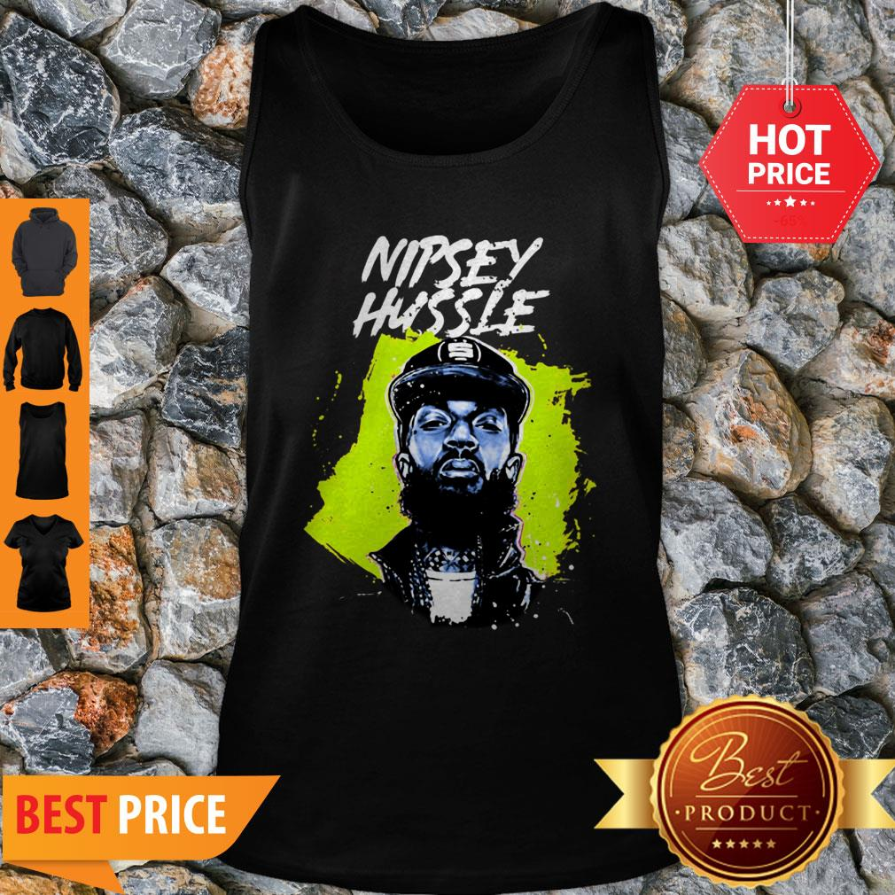 Official Rest In Power Rip Nipsey Hussle Crenshaw Tank Top