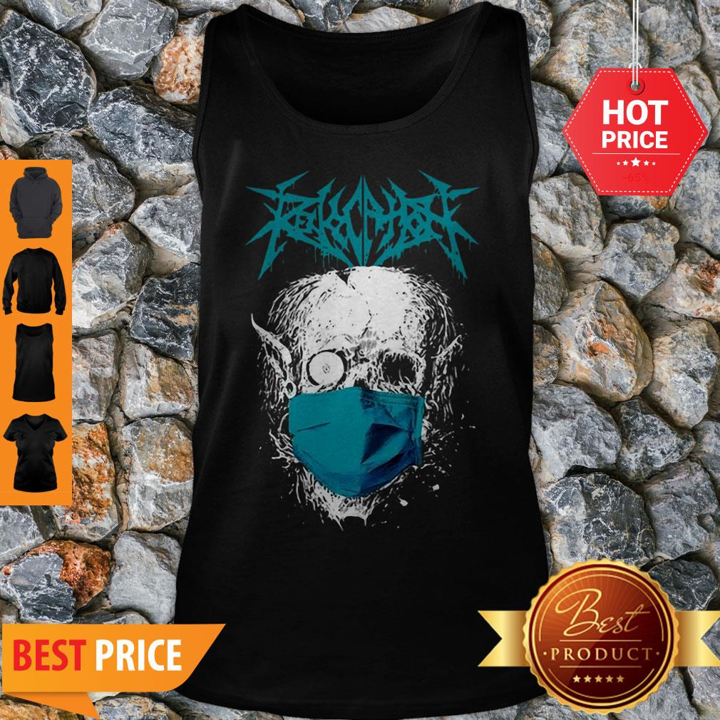 Official Revocation Stay Home Skull Tank Top