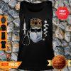 Official Skull Nurse Leopard Coronavirus Tank Top
