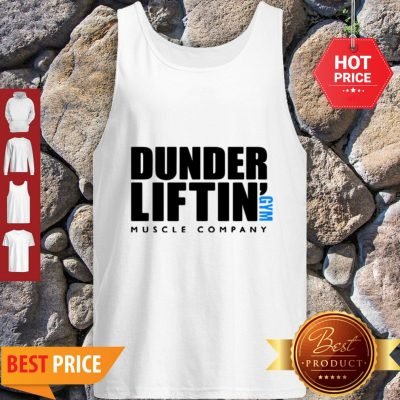 Official Dunder Liftin' Gym Muscle Company Tank Top