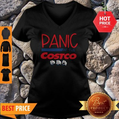 Official Panic At The Costco Toilet Paper V-Neck