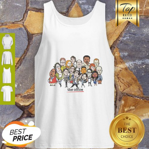 Office Chibi Characters Tank Top