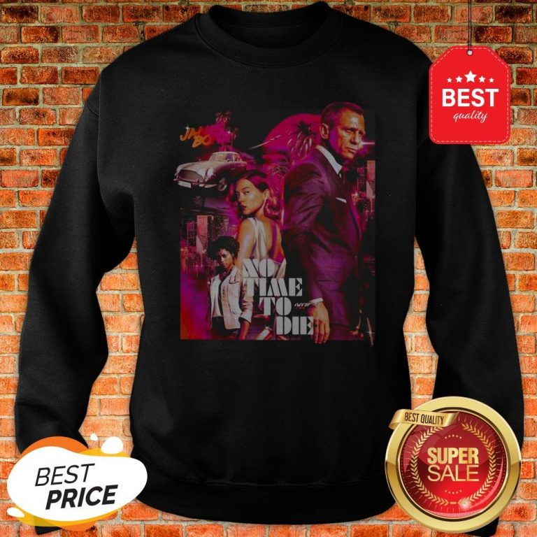 Official James Bond No Time To Die Sweatshirt