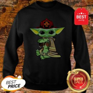 Official Baby Yoda Tattoo Fireman Sweatshirt