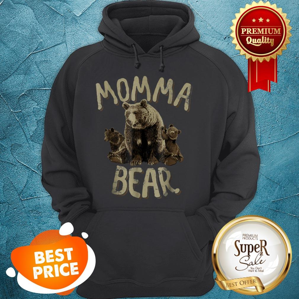 Beautiful Momma Bear – Mama Bear Mother's Day For Mom Hoodie
