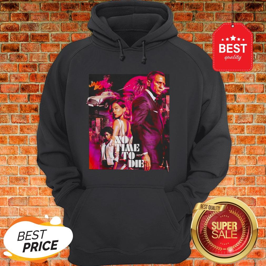 Official James Bond No Time To Die Hoodie