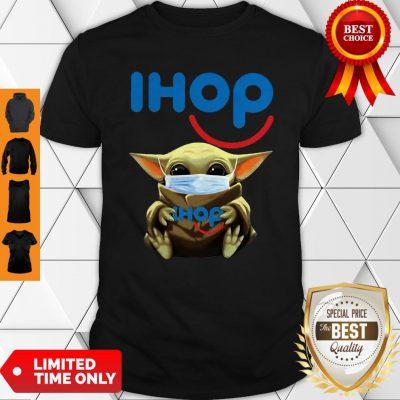 Star Wars Baby Yoda Mask Hug IHop COVID-19 Shirt
