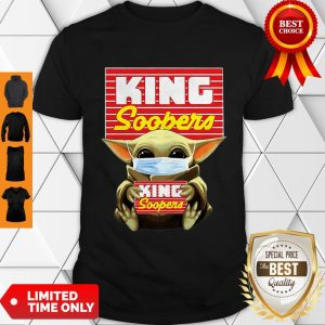 Star Wars Baby Yoda Mask Hug King Soopers COVID-19 Shirt