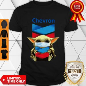 Star Wars Baby Yoda Mask Hug Chevron COVID-19 Shirt