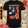 Paramedic American Flag Independence Day Shirt
