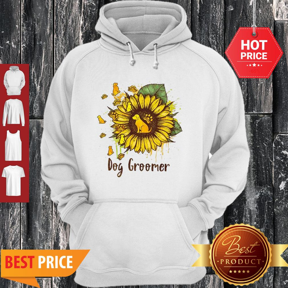 Official Sunflower Dogs Groomer Hoodie