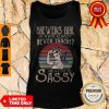 Vintage Brewers Girl Always Classy Never Trashy And A Little Bit Sassy Tank Top