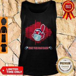Official Wash Your Damn Hands Cleveland Indians Tank Top