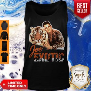Joe Burrow Tigers King Joe Exotic Tank Top