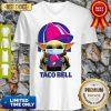 Star Wars Baby Yoda Mask Hug Taco Bell COVID-19 V-Neck