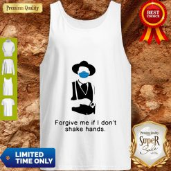 Tombstone Forgive Me If I Don't Shake Hands COVID-19 Tank Top