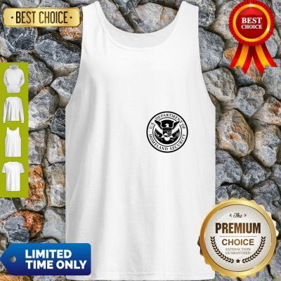 Department Of Homeland Security Police Men And Women Tank Top