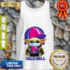 Star Wars Baby Yoda Mask Hug Taco Bell COVID-19 Tank Top