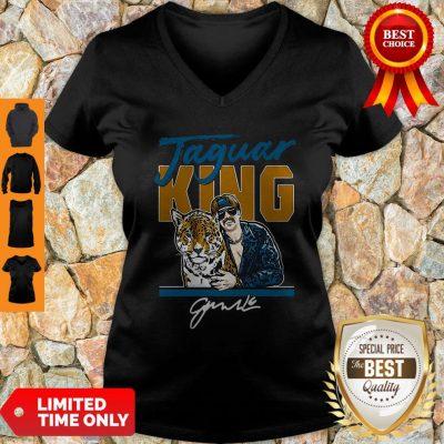 Official Jaguar King Jacksonville Tiger King V-Neck