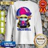 Star Wars Baby Yoda Mask Hug Taco Bell COVID-19 Sweatshirt