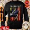 Paramedic American Flag Independence Day Sweatshirt