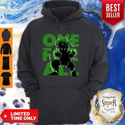 Official One For All 2020 My Hero Academia Hoodie