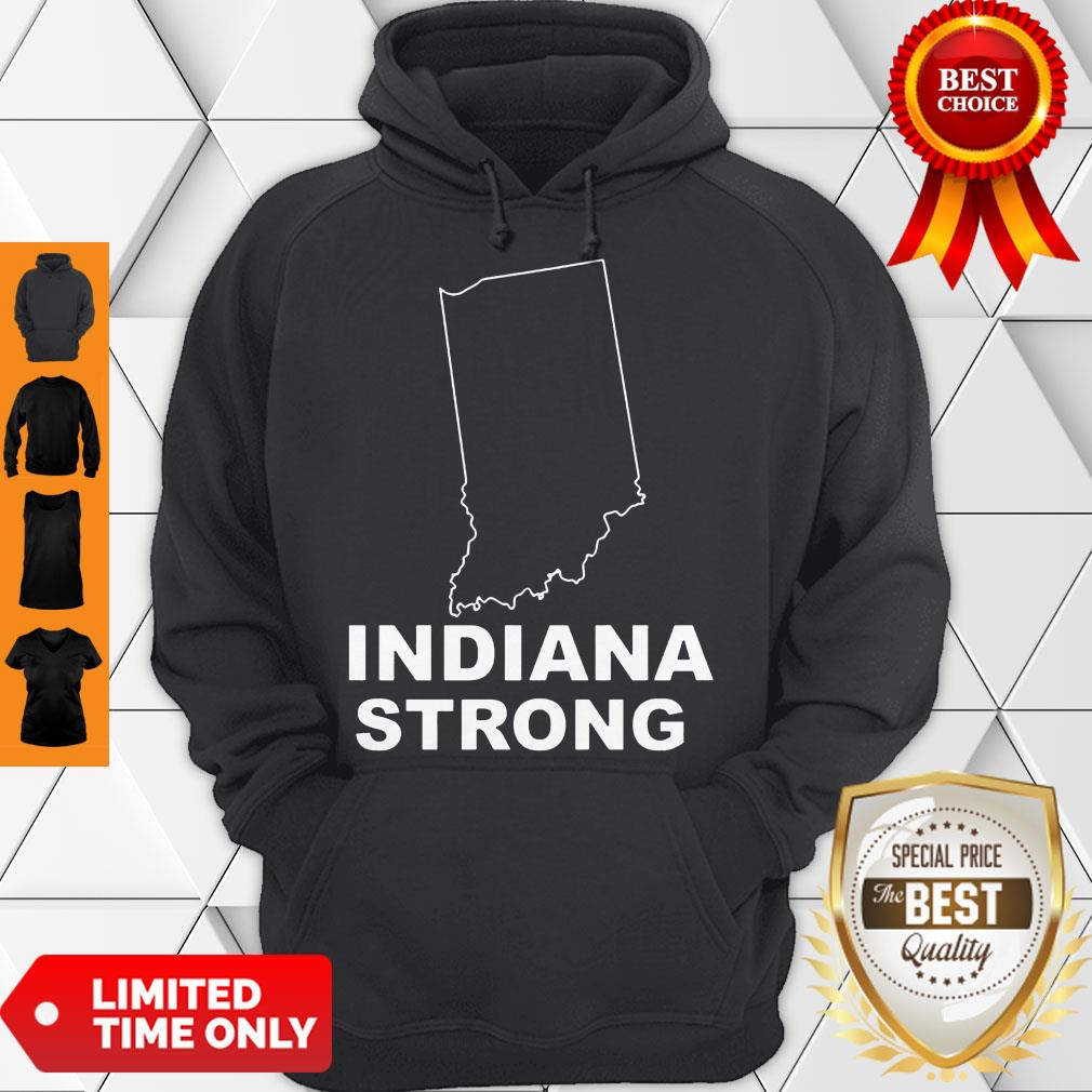 Cute Indiana Strong Indiana State US Hoodie