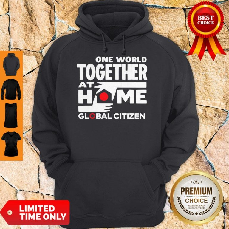 Official One World Together At Home Global Citizen 2020 Hoodie