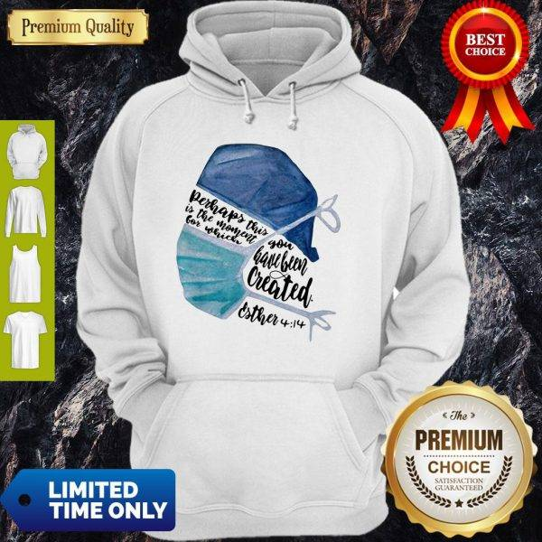 Perhaps This Is The Moment For Which You Have Been Created Nurse Hoodie