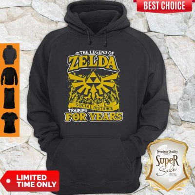 The Legend Of Zelda Social Distance Training For Years Hoodie