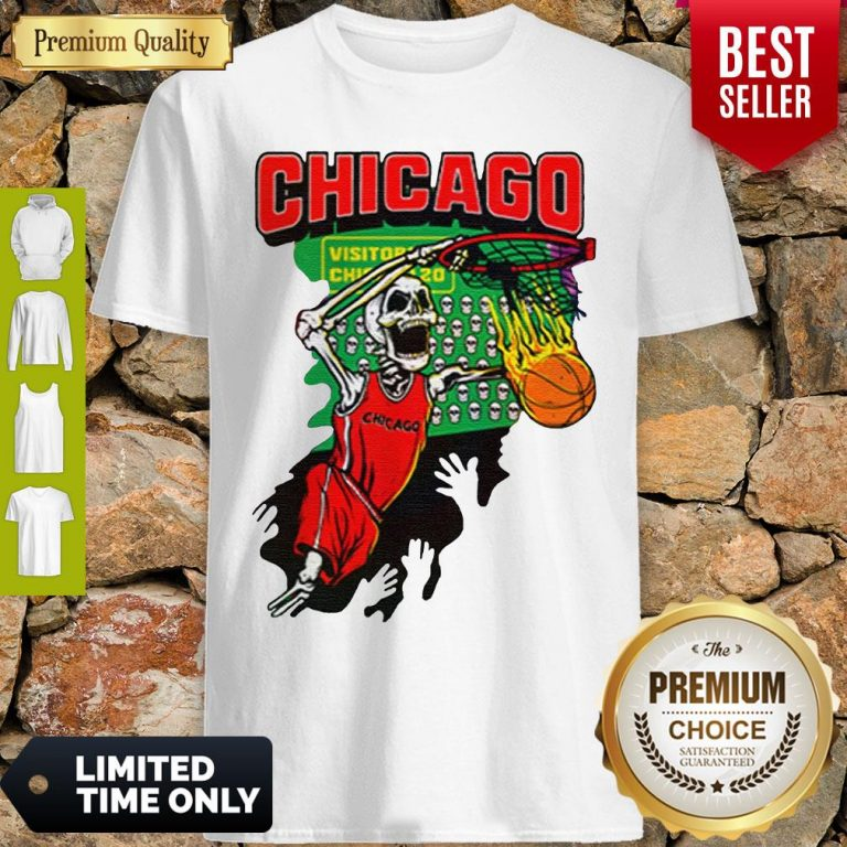Official Chicago Tie Dye Basketball For Shirt