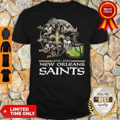 2019 – 2020 New Orleans Saints Team Player Signatures Shirt