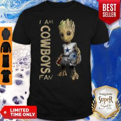 Official Baby Groot I Am Cowboys Fan Shirt