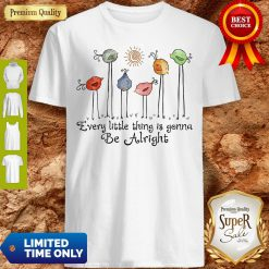 Official The Birds Every Little Thing Is Gonna Be Alright Shirt