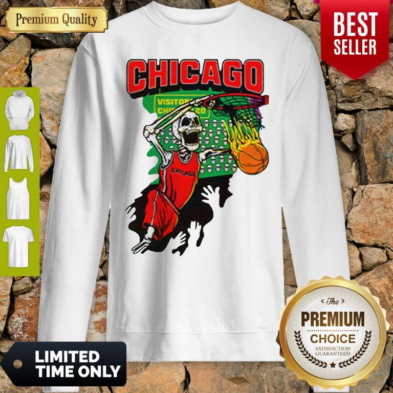 Official Chicago Tie Dye Basketball For Sweatshirt