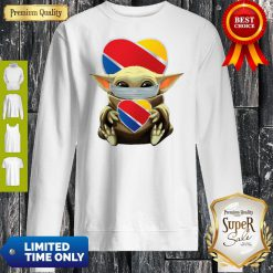 Good Baby Yoda Mask Hug Southwest Airlines Sweatshirt