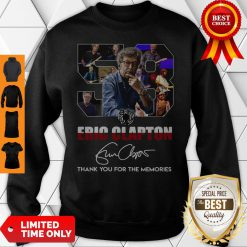 58 Years Of 1962 2020 Eric Clapton Thank You For The Memories Signature Sweatshirt