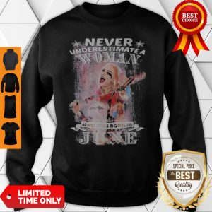 Harley Quinn Never Underestimate A Woman Who Was Born In June Sweatshirt