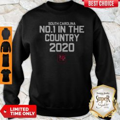 Pretty South Carolina No 1 In The Country 2020 Hoodie