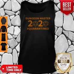 Top Dungeon Master 2020 #Quarantined Tank Top