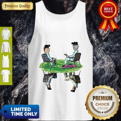 Pretty Rick And Morty And Bad Tank Top
