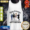 Pretty Stay Home And Watch Schitt's Creek Movies Tank Top