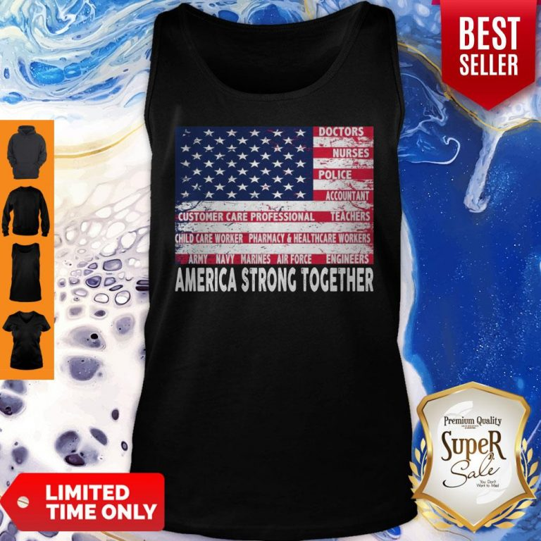 Nice America Strong Together Tank Top