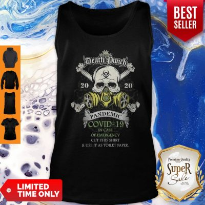 Five Finger Death Punch 2020 Pandemic COVID-19 Version Skull Tank Top