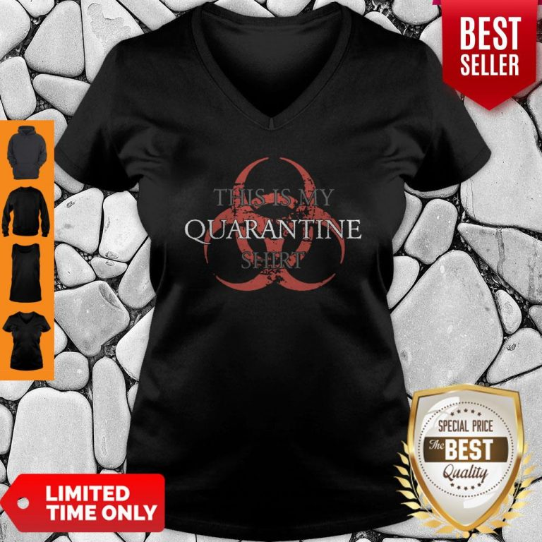 Top This is My Quarantine V-Neck