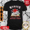 Awesome Nurses Never Fold Shirt