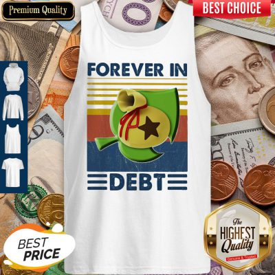 Awesome Game Forever In Debt Vintage Tank Top
