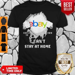 Blood Inside Me EBay COVID-19 2020 I Can't Stay At Home Shirt